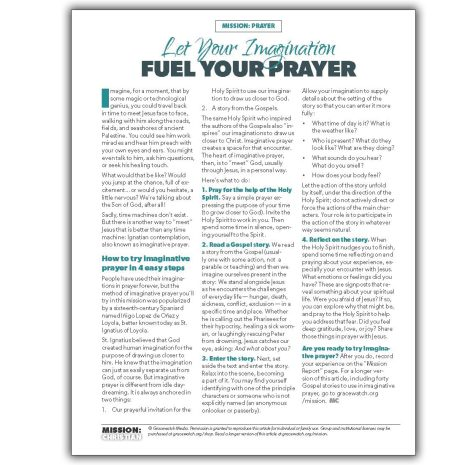 MC Imaginative Prayer