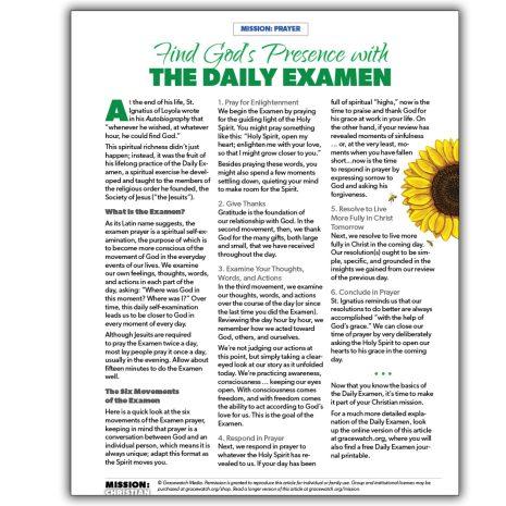 MC Daily Examen