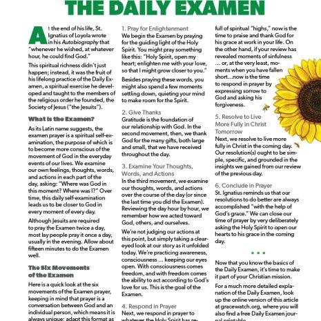 The Daily Examen Cover