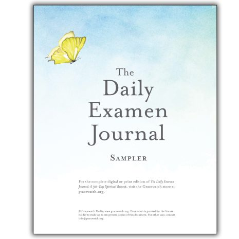 The Daily Examen Journal Sampler Cover